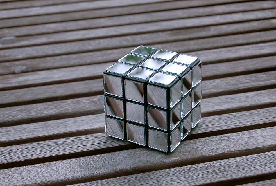 Rubik's Cube-sculpture